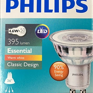 SPB - หลอด LED 4.6w GU10 Philips (004262)